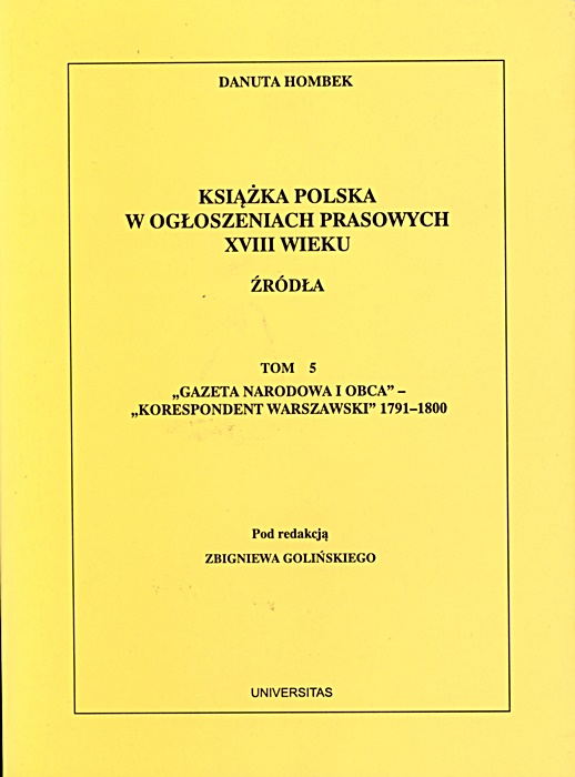 publik_Hombek_2 prof. zw. dr hab. Danuta Hombek