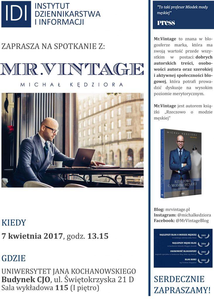 MrVintage-plakat-731x1024 Mr.Vitage w IDI