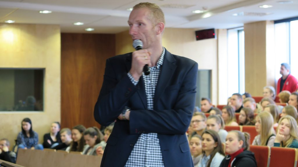 IMG_1326-1024x576 Karol Bielecki w roli wykładowcy