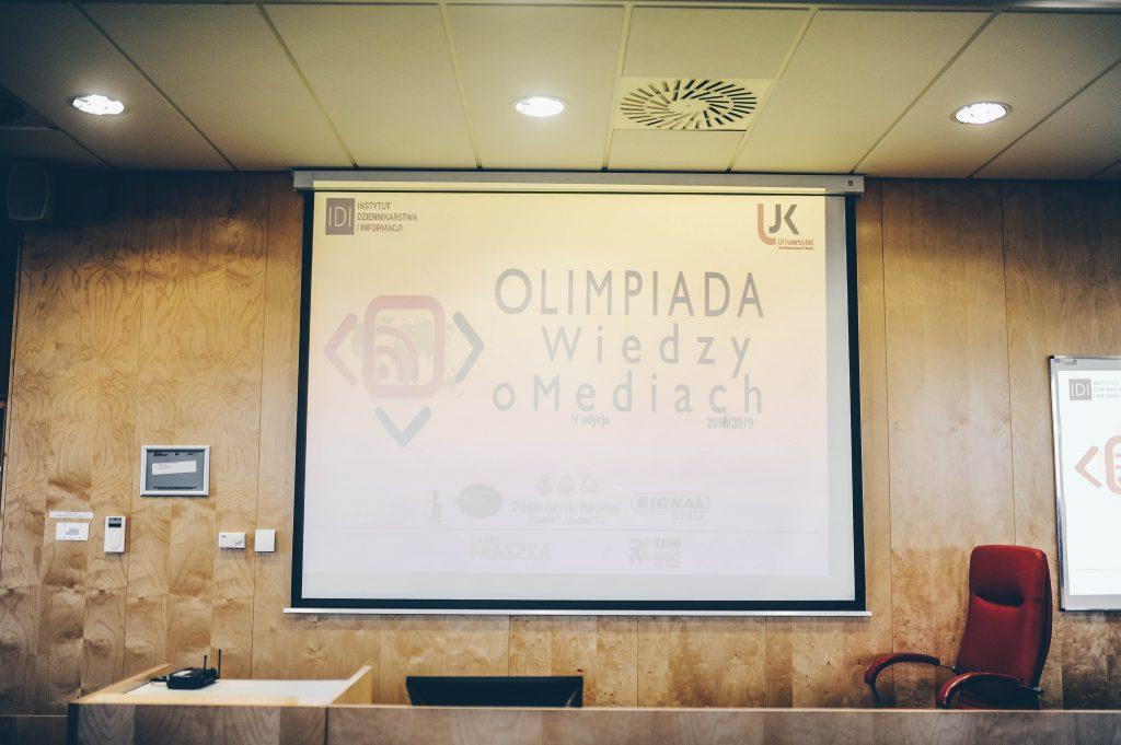 3-1024x681 Znamy zwycięzców wojewódzkiego etapu V Olimpiady Wiedzy o Mediach