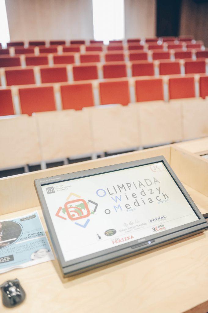 8-681x1024 Znamy zwycięzców wojewódzkiego etapu V Olimpiady Wiedzy o Mediach