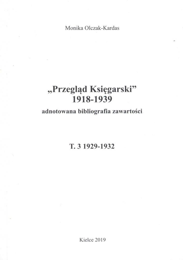 OklPrzeglad-KsiegarskiT3-2019-722x1024 dr hab. prof. UJK Monika Olczak-Kardas